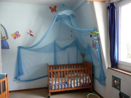 Kita Farfallina - Schlafmöglichkeiten für Babies