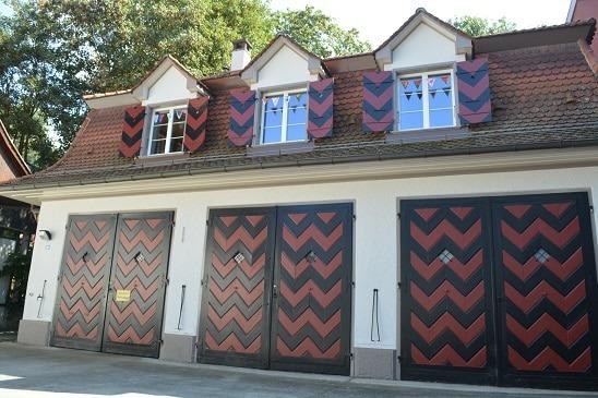 Kita Farfallina - Fenster zum Hof