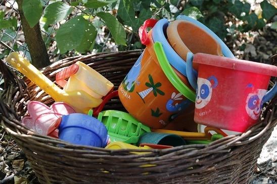 Garten Kita Farfallina - Spielsachen