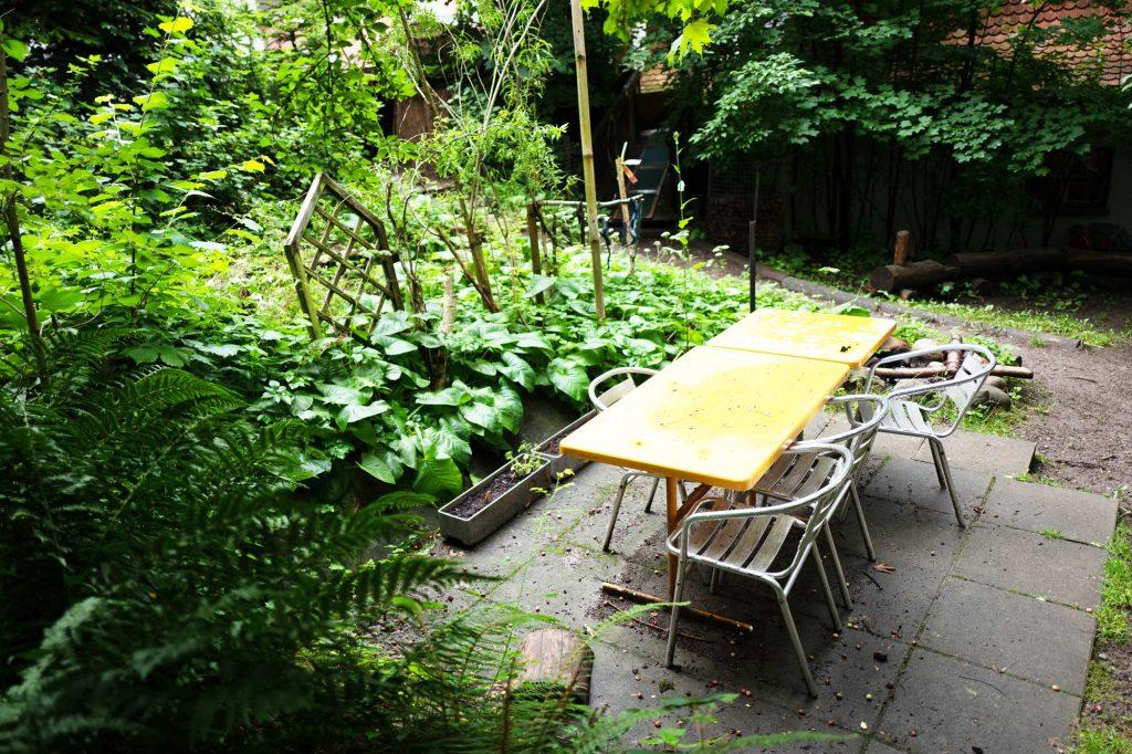 Kita Farfallina - Garten